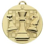 Chess Medal 50mm AM1044